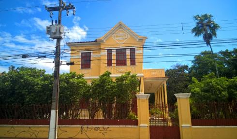 Villa Carmem – antiga residência do Coronel Gonçalo Rollemberg – Av. Ivo do Prado, Aracaju